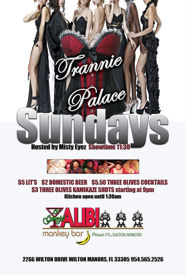 Sundays Trannie Palace